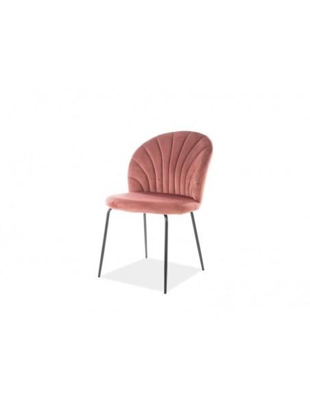 scaun-bucatarie-si-dining-lola-velvet-cadru-metal-negru-tapitat-cu-catitea-roz-antichizat-bluvel-52