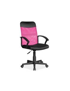 scaun-rotativ-q-702-roz-negru