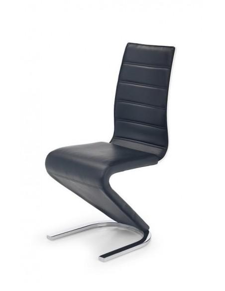 scaun-bucatarie-si-dining-k194-otel-tapitat-cu-piele-ecologica-negru-furnir-alb